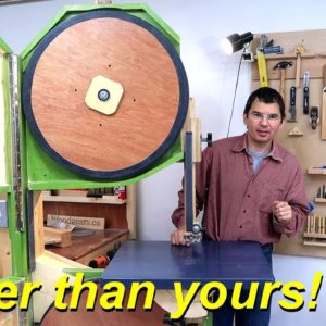 26-inch bandsaw build start to finish
