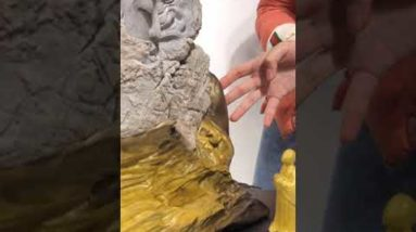 Amazing Wood Carving - Woodworking Craftman #short