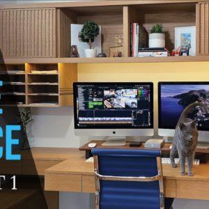 Home Office Desk PART 1 // Home Office Makeover // Desk Setup