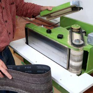 Homemade belt sander after 5 years -- update
