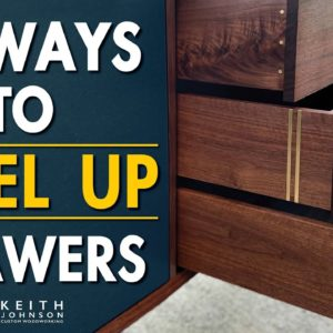 How to Build Cabinet Drawers // Level Up Your Drawers