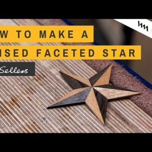 How to Make a Raised Faceted Star | Paul Sellers
