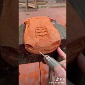 How To Make Car Lamborghini Wood  -Woodworking DIY #shorts