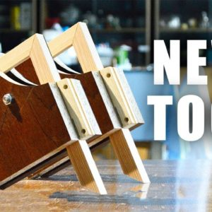 Woodworking DIY Right Angle Clamp From Scrap Materials - Useful For Making Picture Frames