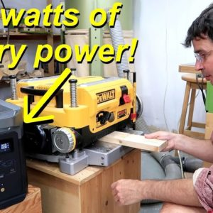 Overloading the EcoFlow Delta Max battery pack