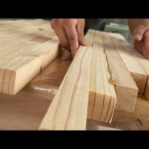 Wood Recycling // Good Idea From Waste Wood